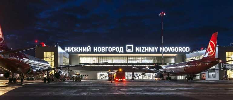 Международный аэропорт Стригино стал победителем национальной премии «Воздушные ворота России»!